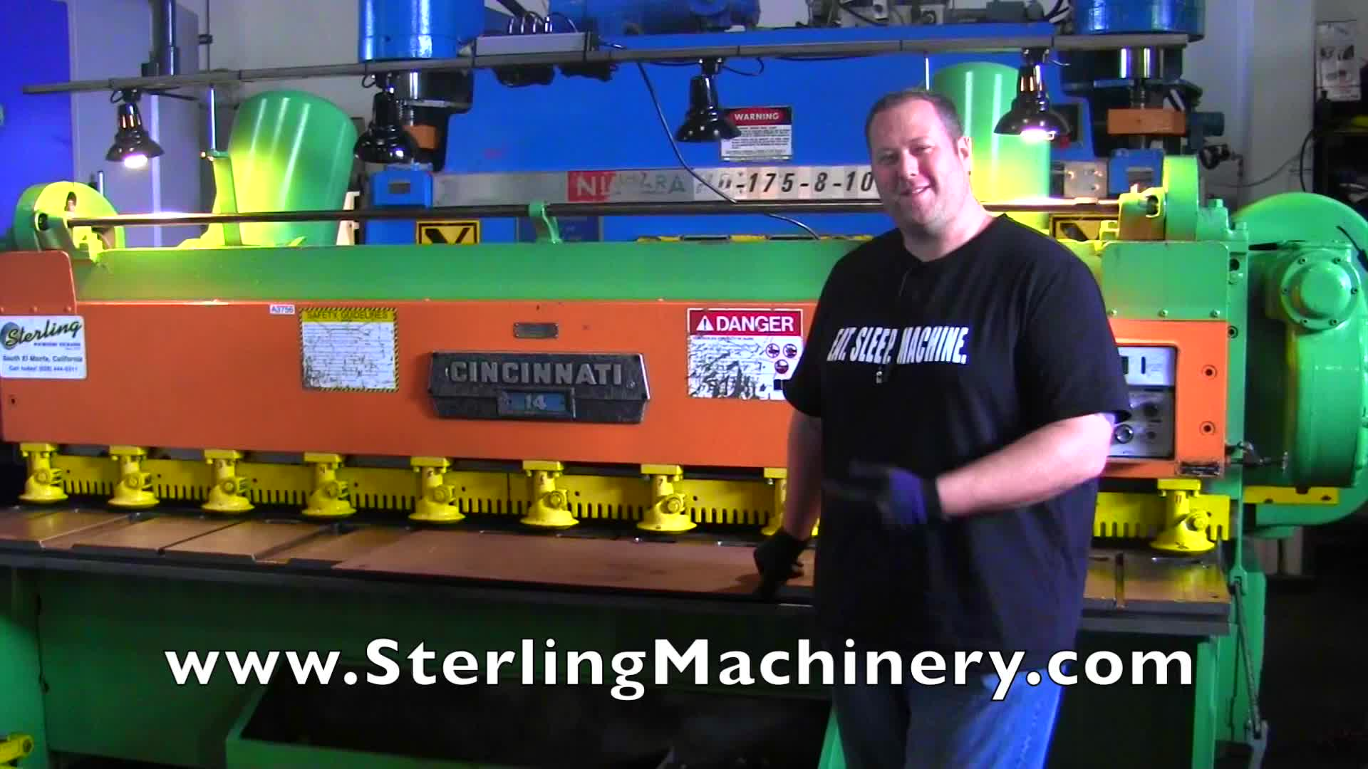 Machinery Videos of Dealer Machine Tools Showing Used Lathe, Milling on