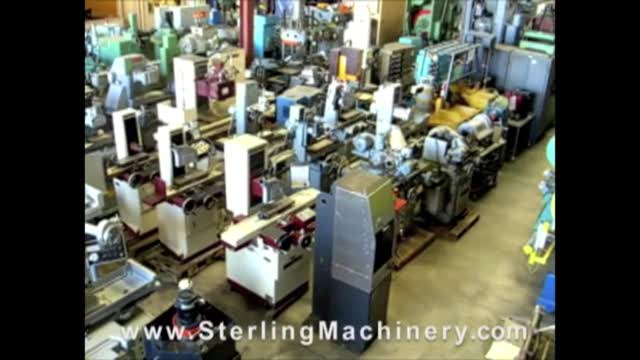 Machinery Videos Of Dealer Machine Tools Showing Used Lathe  Milling Machine  Metal Shear  Press