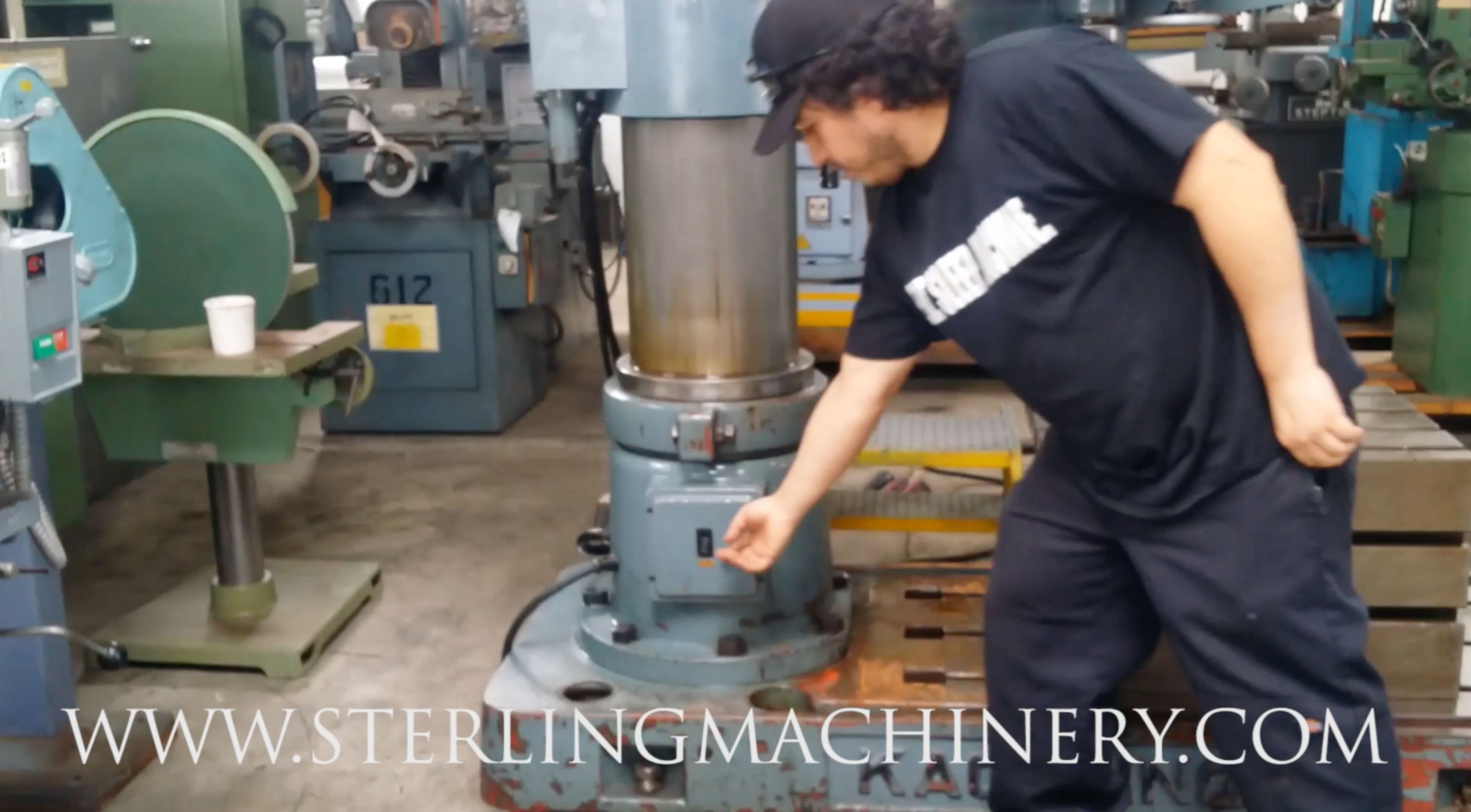 video24603 machinery videos of dealer machine tools showing used lathe  at webbmarketing.co