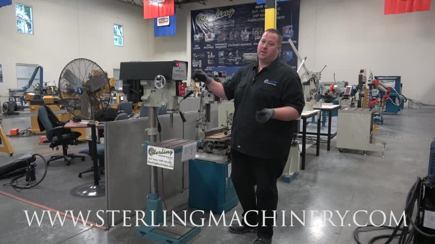 Machinery Videos of Dealer Machine Tools Showing Used Lathe
