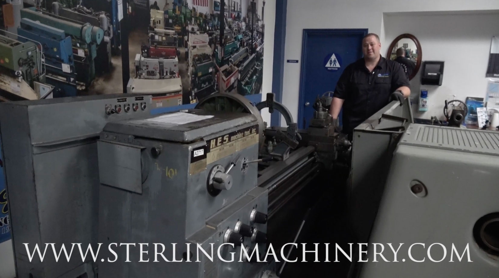 Used Lathes Engine Lathe For Sale Precision Lathes Tool Room >> Machinery Videos Of Dealer Machine Tools Showing Used Lathe Milling