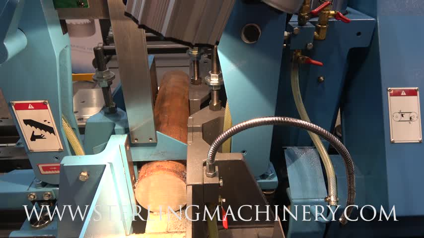 Machinery videos of dealer machine tools showing used lathe milling 13 x 15 brand new doall continental series fully automatic horizontal bandsaw mdl dc 330nc nc control panel touch screen control 20 job presets greentooth Image collections