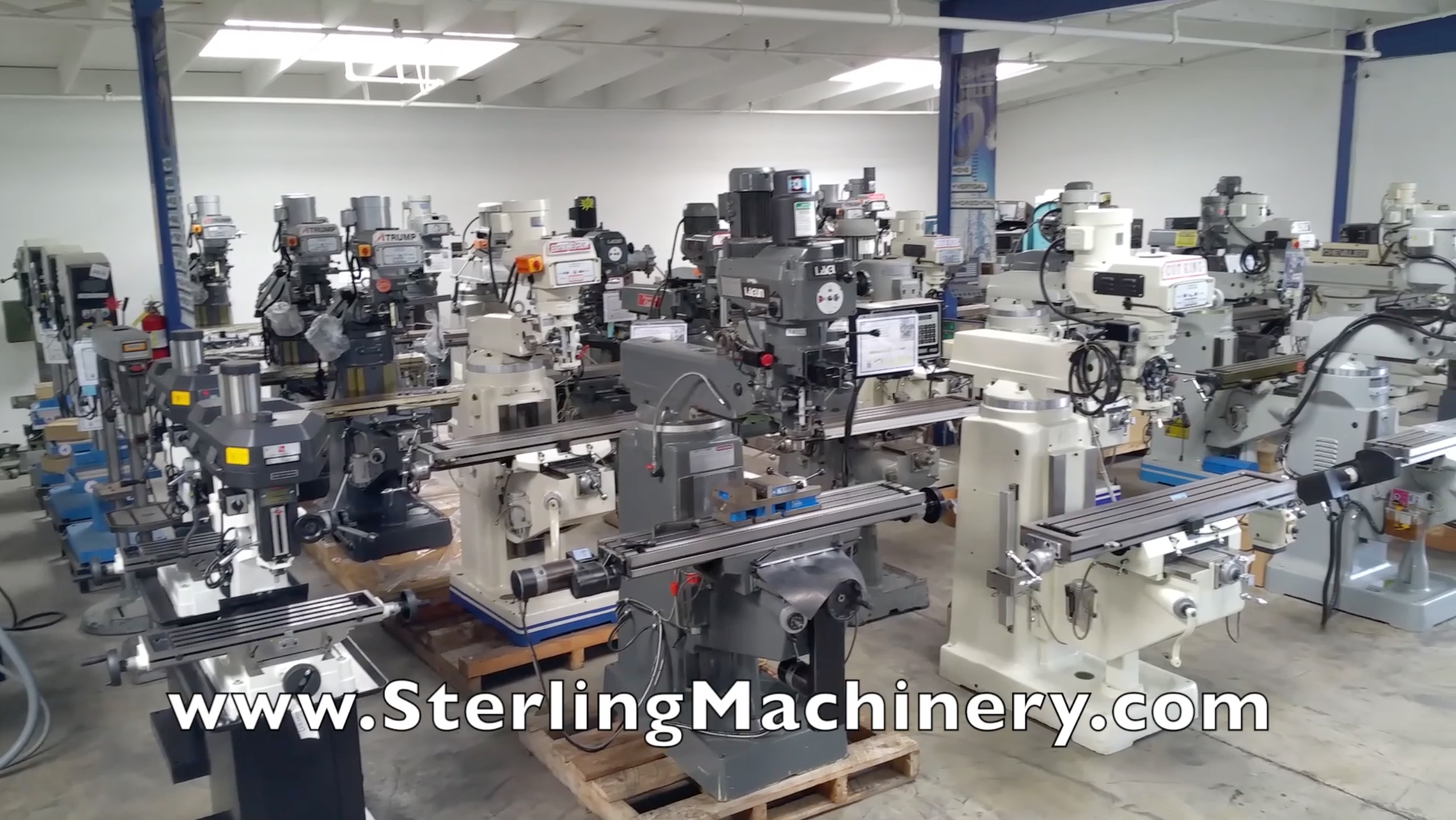 Sterling Machinery Exchange Company video www.SterlingMachinery.com