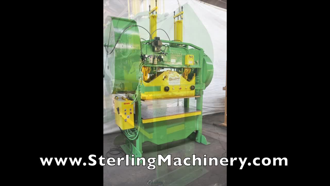 Machinery Videos Of Dealer Machine Tools Showing Used Lathe Milling M60 Mcb Circuit Breaker Mini China 100 Ton X 6 Rousselle Straight Side Double Crank Press Mdl 10s60 Air Clutch Brake Isb Light Curtain Power Ram Adjustment Dual Counter