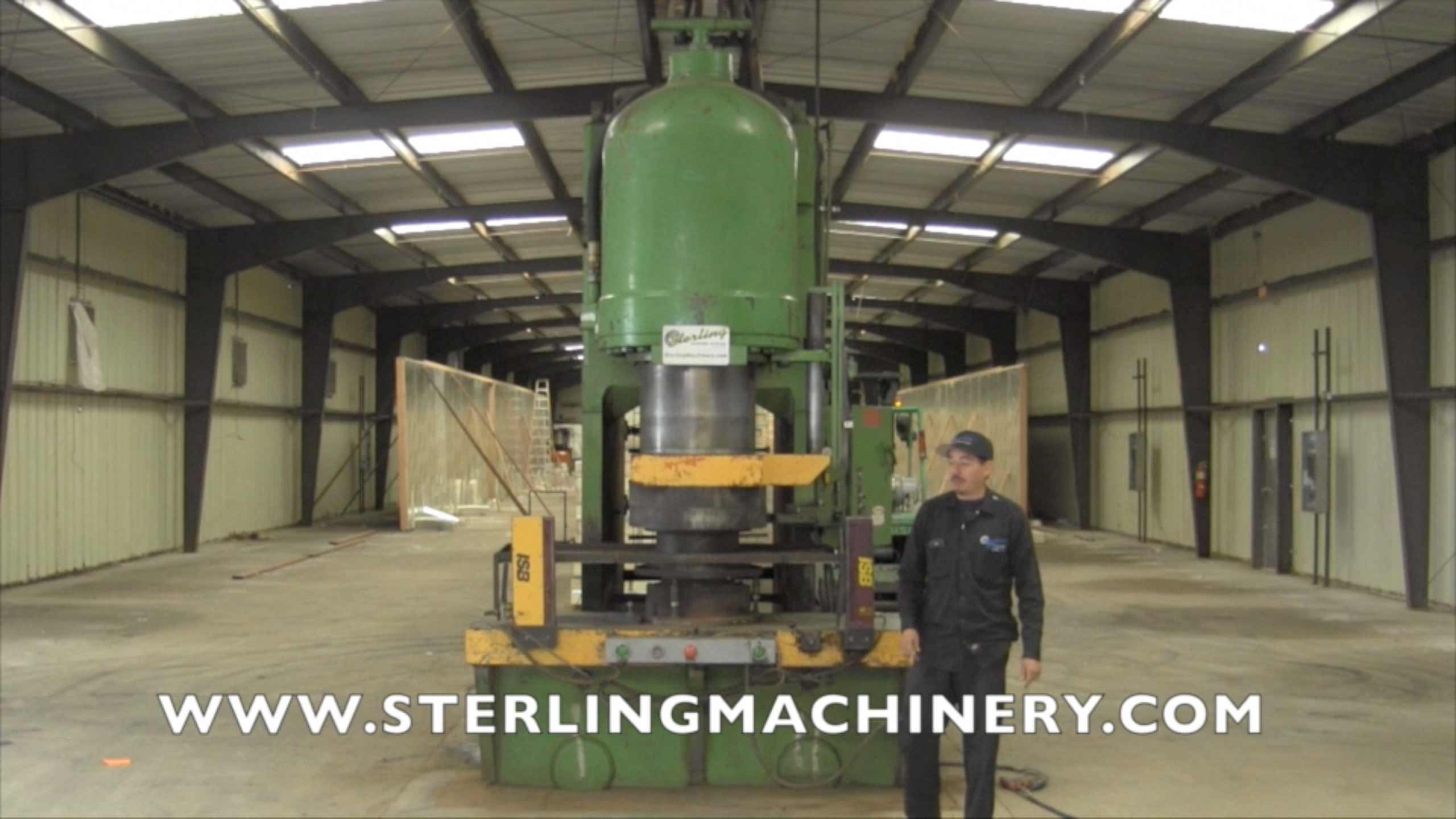Machinery Videos Of Dealer Machine Tools Showing Used Lathe Milling M60 Mcb Circuit Breaker Mini China 750 Ton X 18 Del Pacfico Hidrulico Pressformer Press Control Dual De Palm Barreras Seguridad A4336 2097 Views