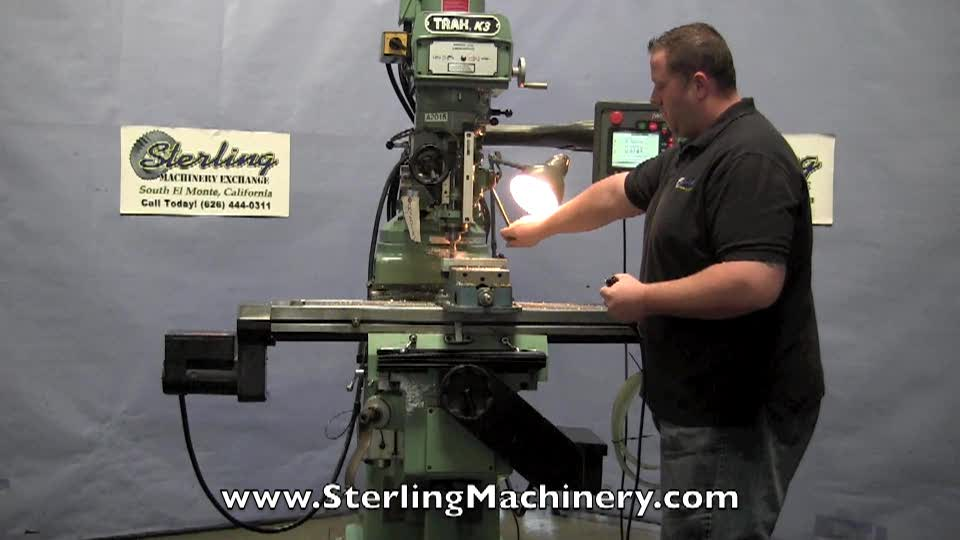 Used Mills Bridgeport Mill Vertical Mills Cnc Mills Horizontal >> Machinery Videos Of Dealer Machine Tools Showing Used Lathe Milling